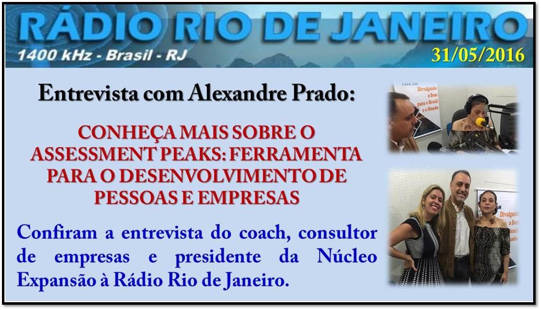 Chamada RRJ 310516 PEAKS